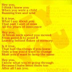 Hey You #Poetry